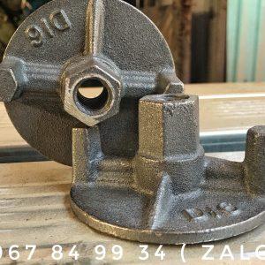 Tán chuồn D16 Đen Trọng Lượng 560 Gram Đường Kính 100mm